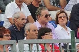 con LTERO MATTEOLI AL CIRCOLO DEL TENNIS